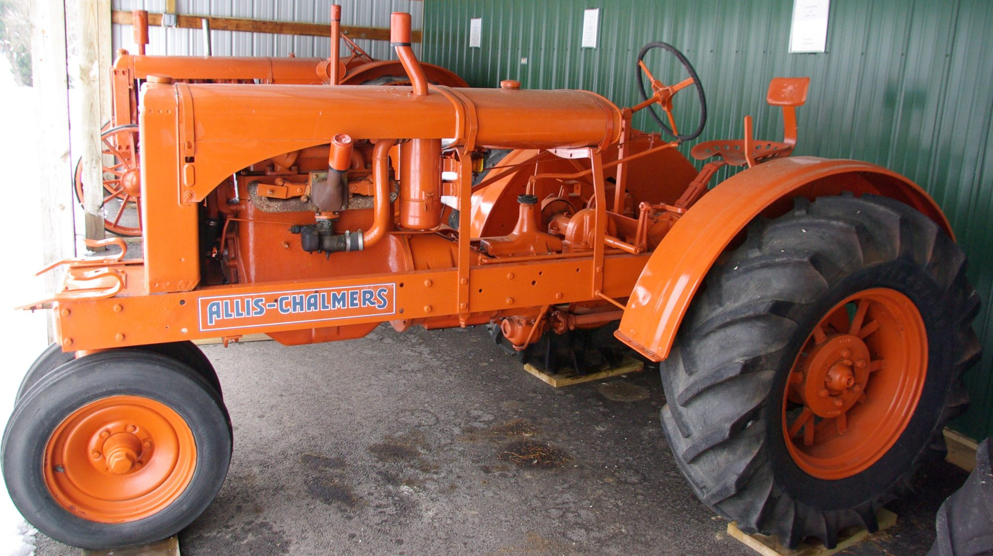 Allis-chalmers wc