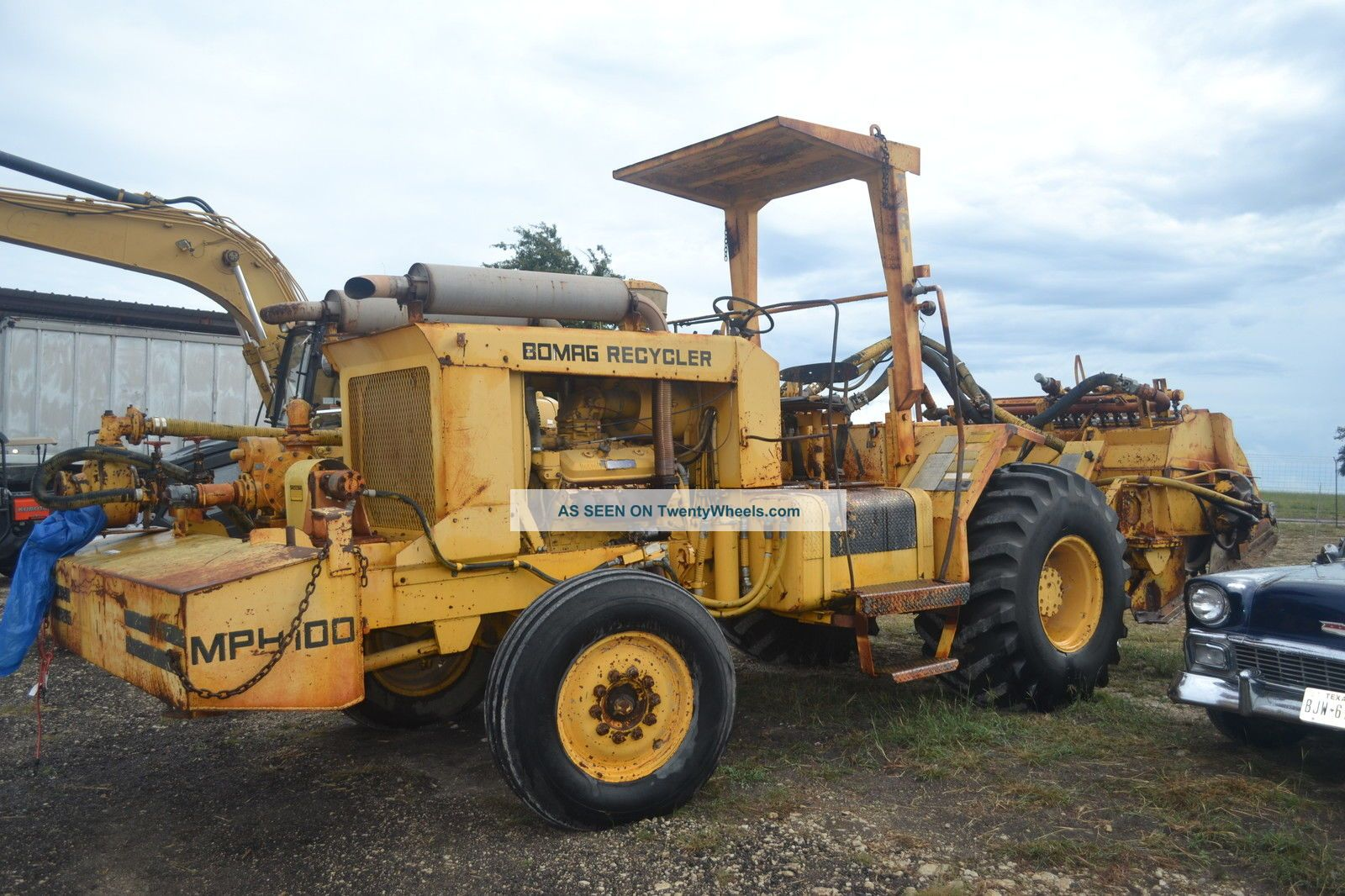 Bomag recycler