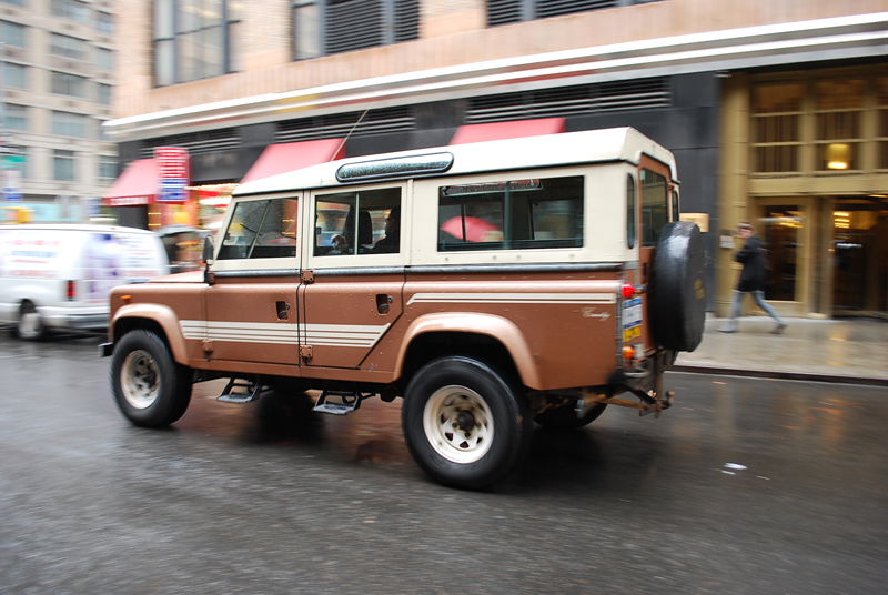 Land-rover one-ten