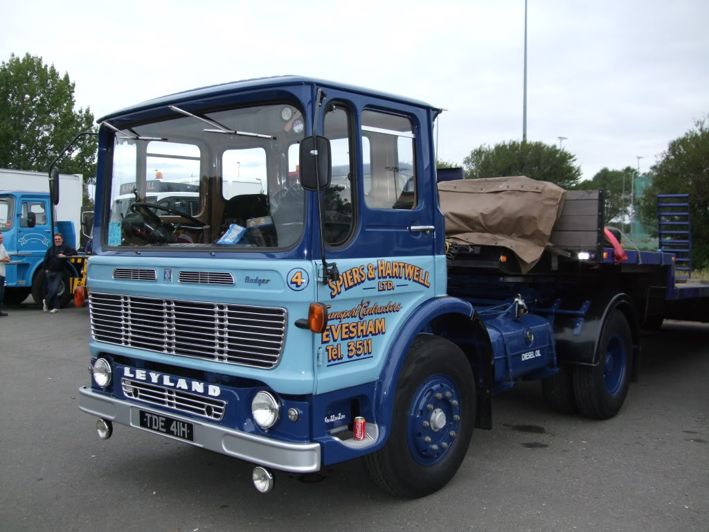 Leyland badger