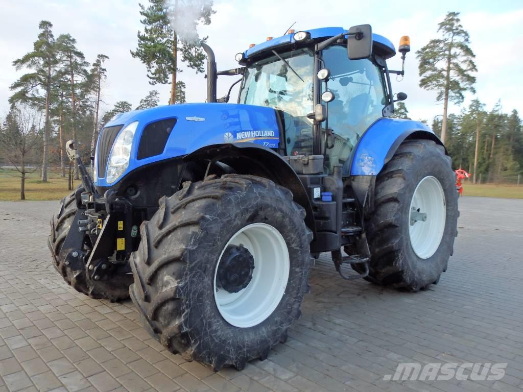 New holland t