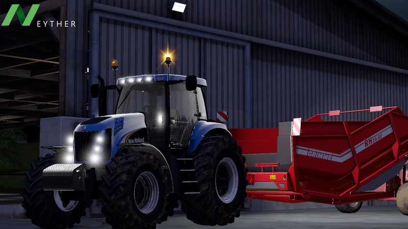 New holland tg-series