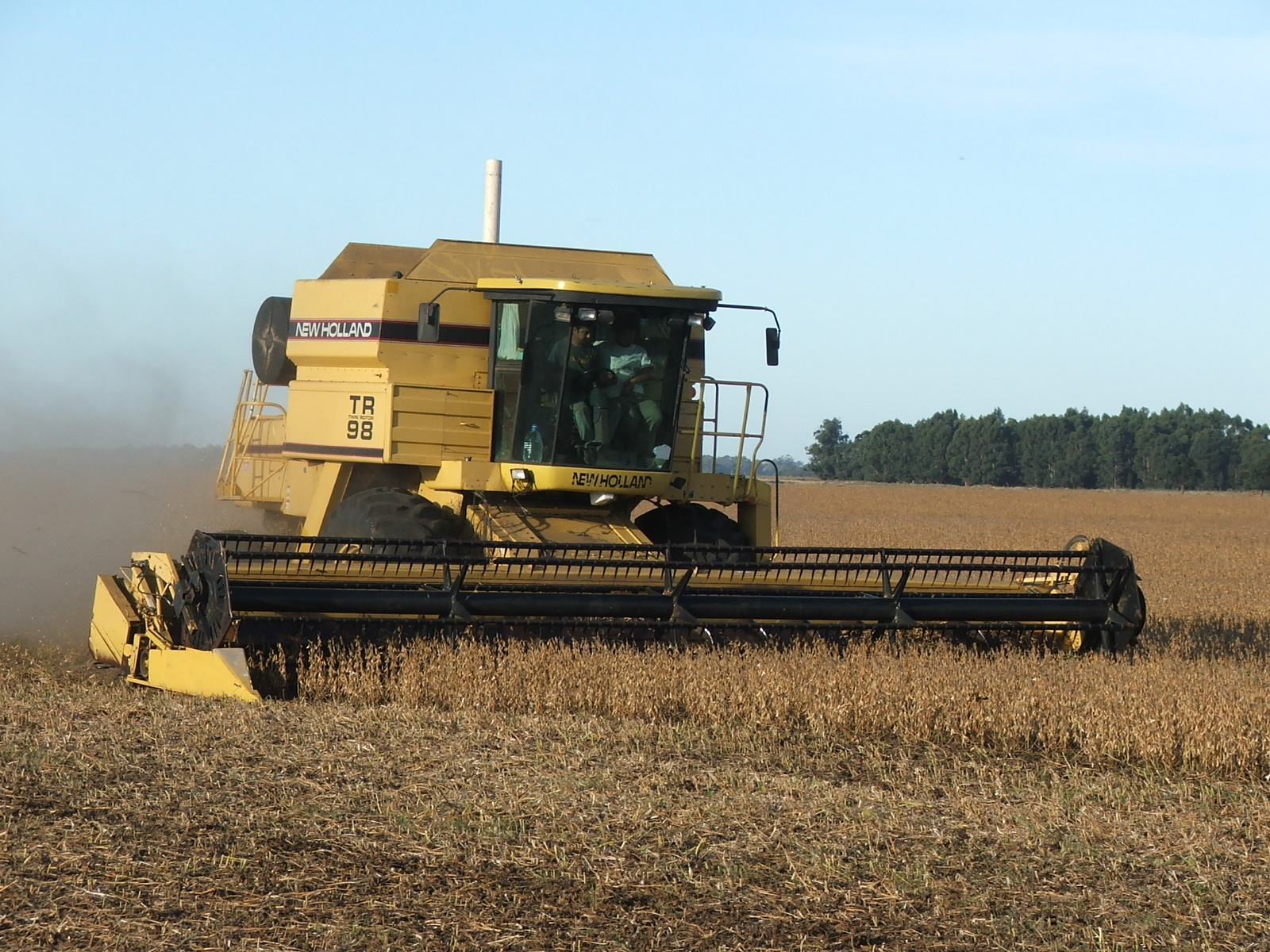 New holland tr