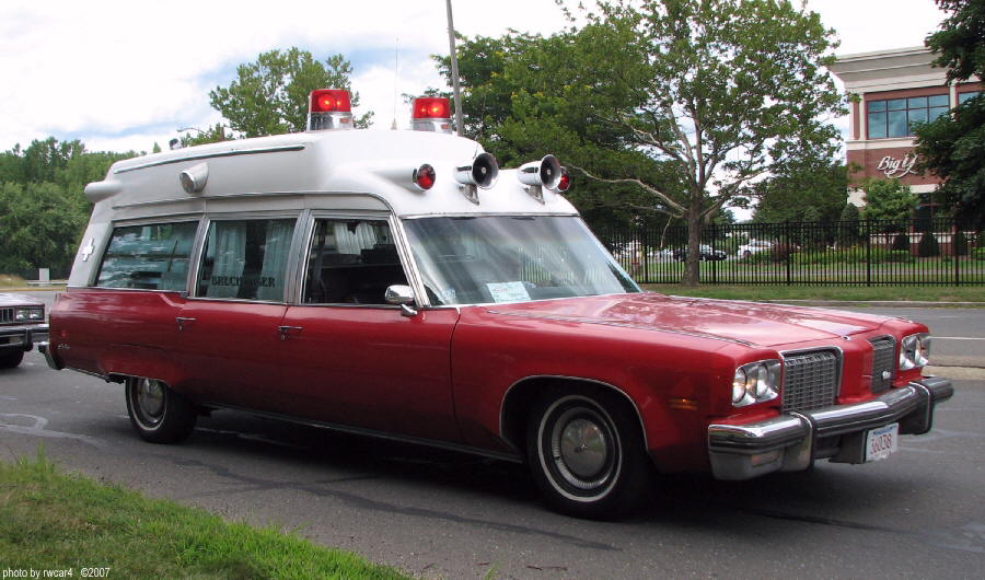 Oldsmobile ambulance