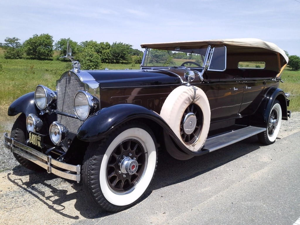 Packard touring