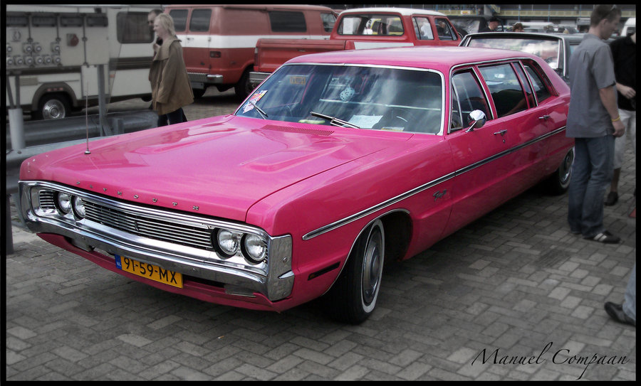 Plymouth limousine