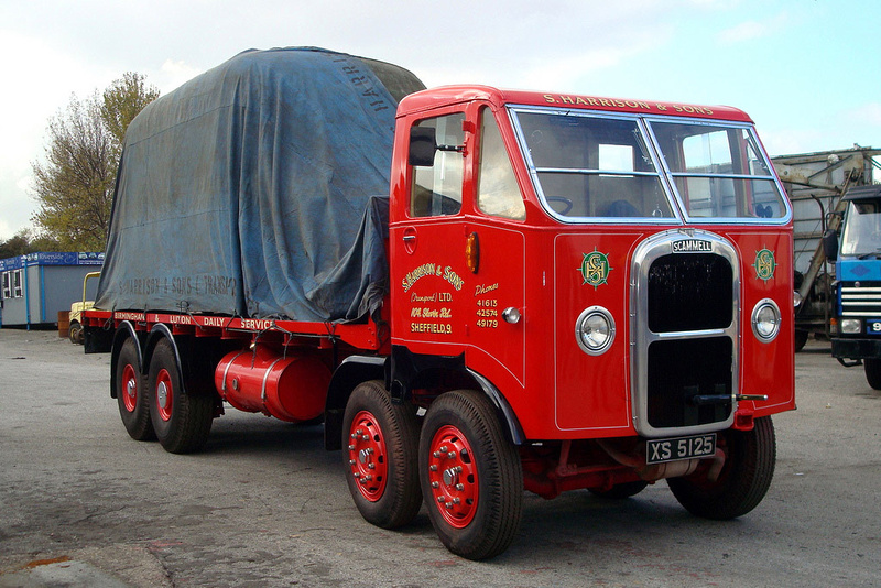 Scammell r8