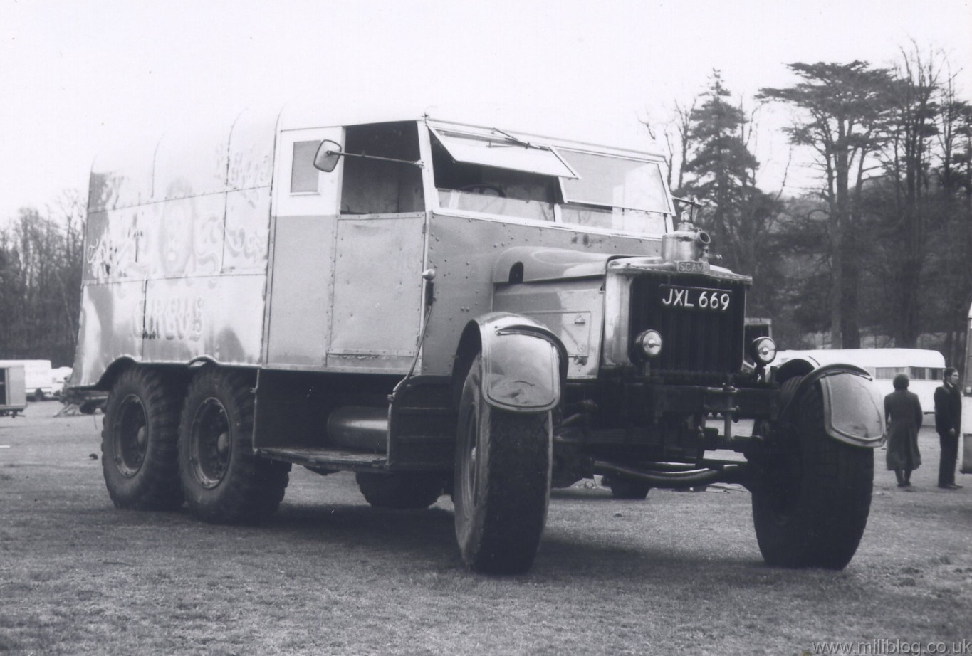 Scammell tractor