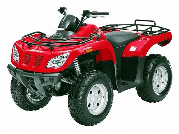 Arctic cat 350 photo - 4