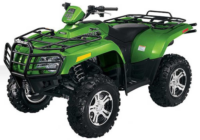 Arctic cat 550 photo - 8