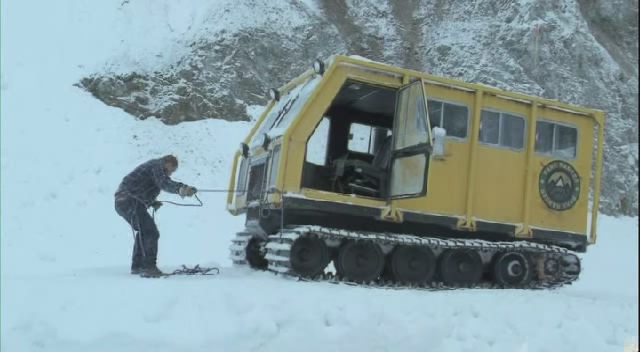 Bombardier skidozer photo - 1