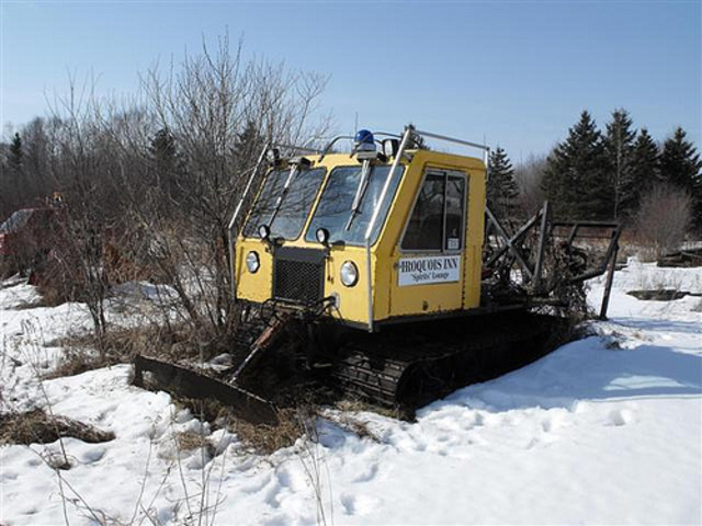 Bombardier skidozer photo - 4