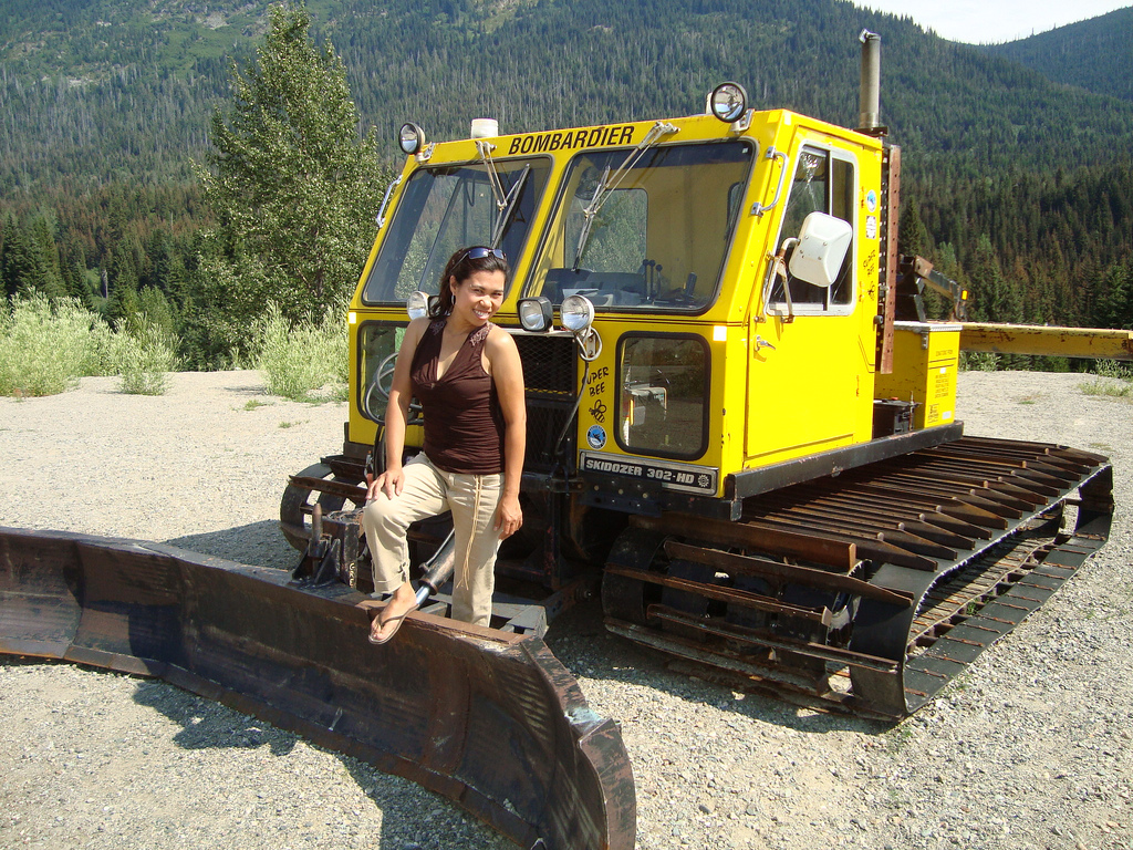 Bombardier skidozer photo - 6