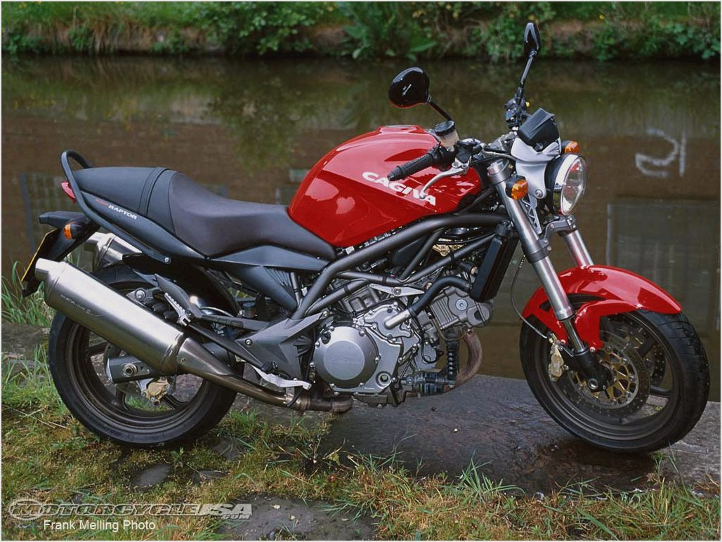 Cagiva raptor Photo and Video Review. Comments.