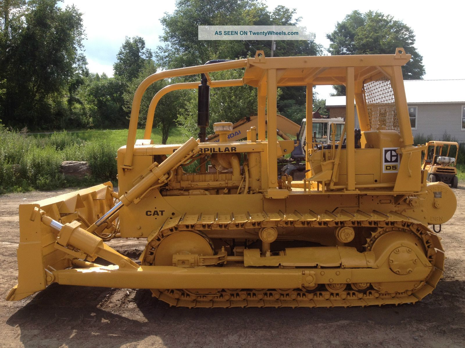Caterpillar d5 photo - 7