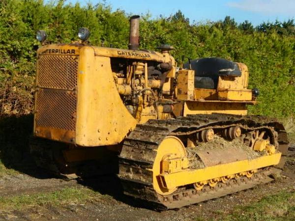 Caterpillar d7-17a photo - 4