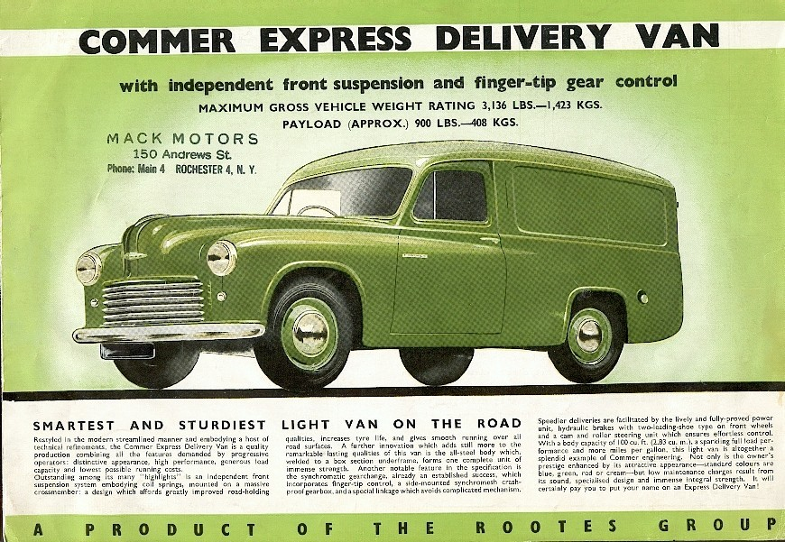 Commer express photo - 7