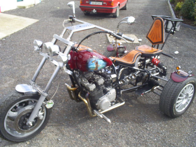 Custom made trike photo - 2