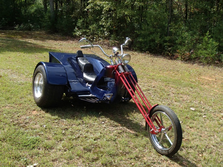 Custom made trike photo - 4
