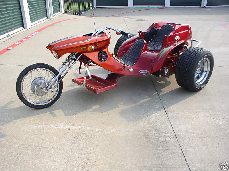 Custom made trike photo - 9