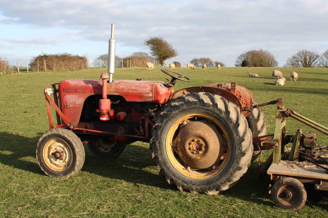 David brown tractor photo - 10