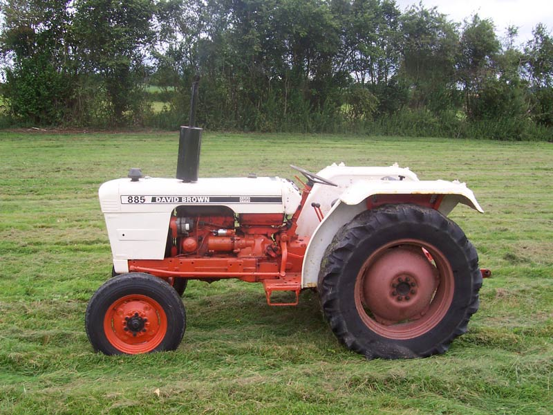 David brown tractor photo - 2