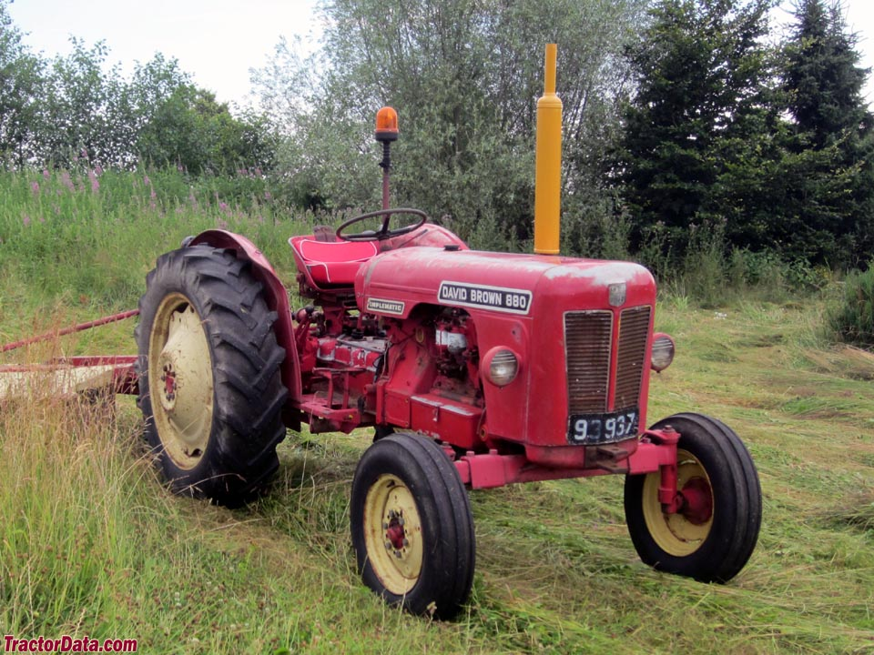 David brown tractor photo - 5