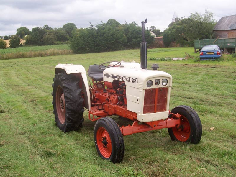 David brown tractor photo - 6