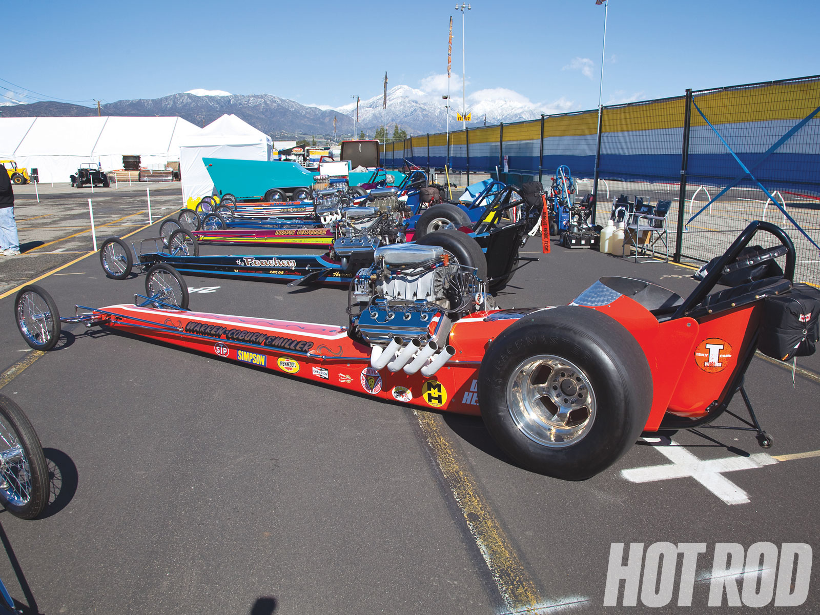 Dragster cars photo - 1