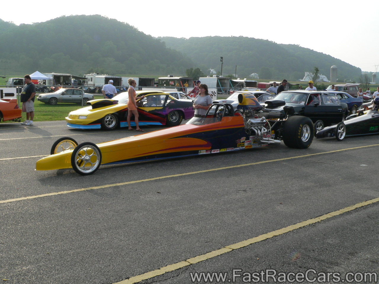 Dragster cars photo - 7