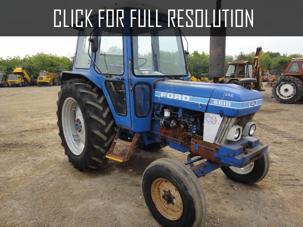 Ford 8610 photo - 9