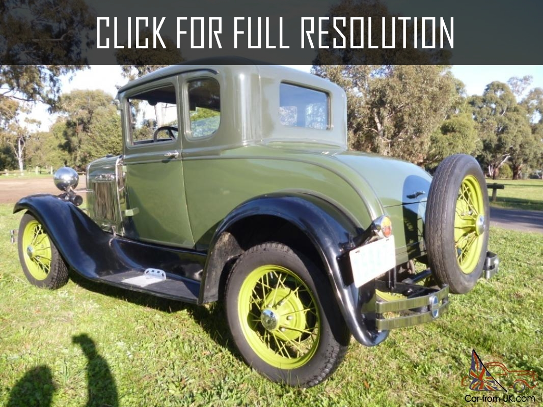 Ford a1 photo - 5