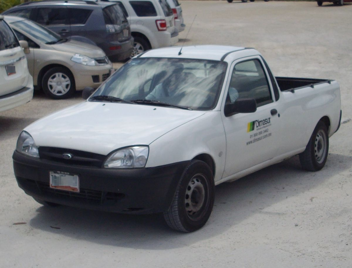 Ford courier photo - 2