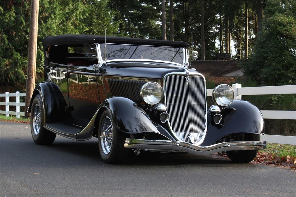 Ford phaeton photo - 7