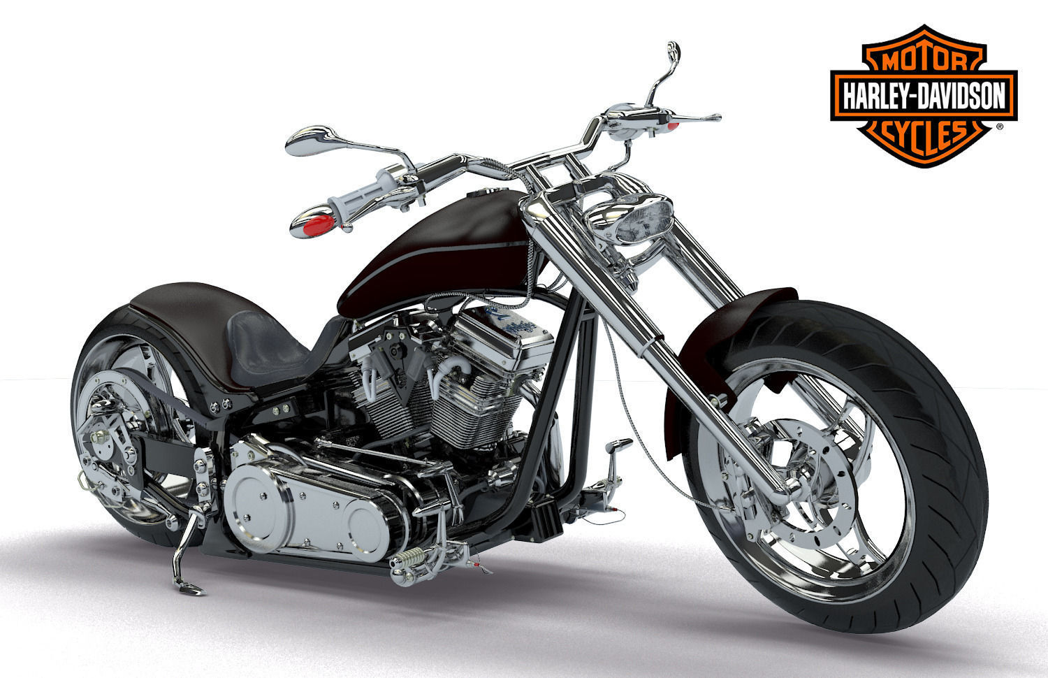 Harley-davidson custom photo - 5