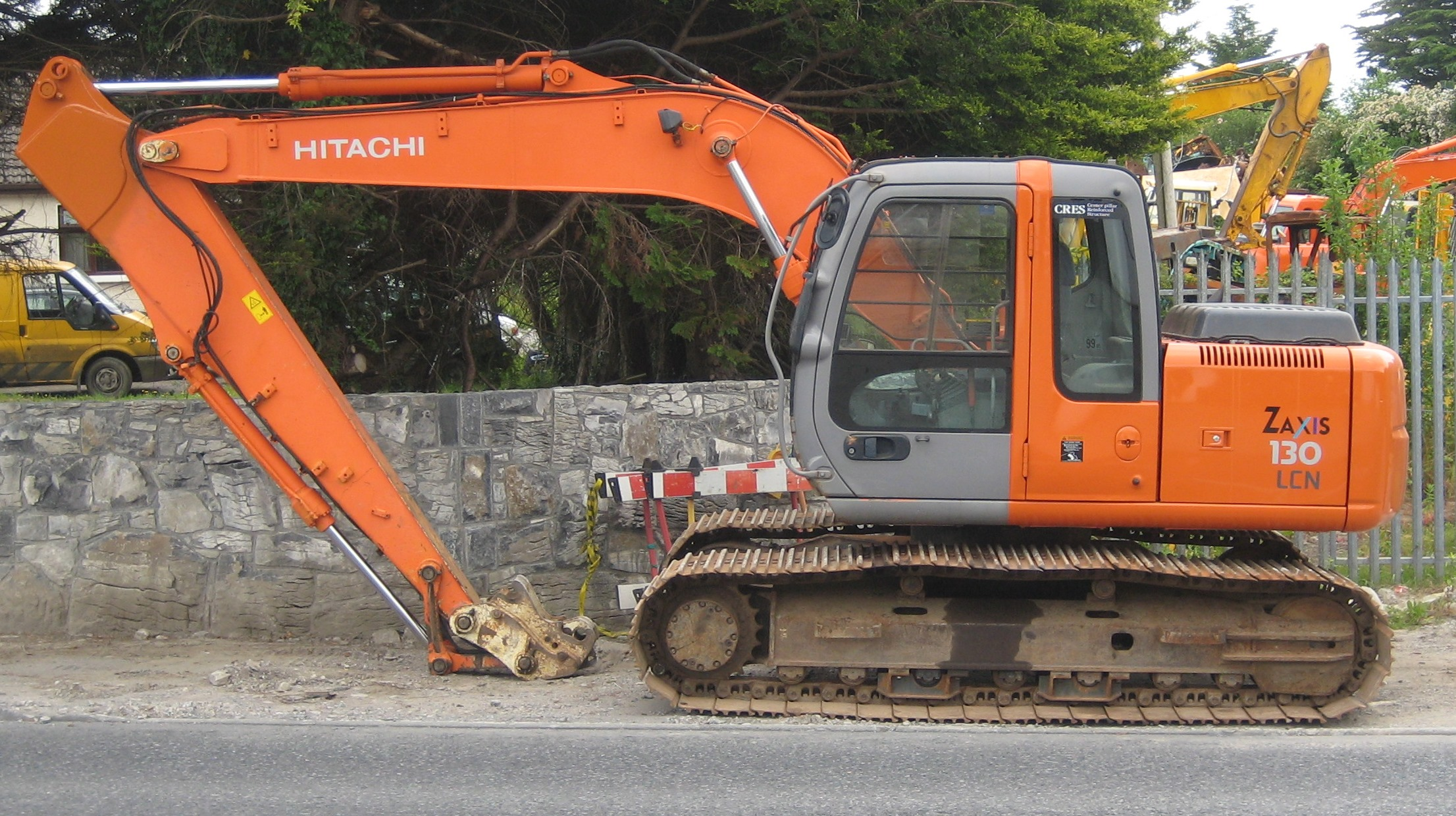 Hitachi ex photo - 6