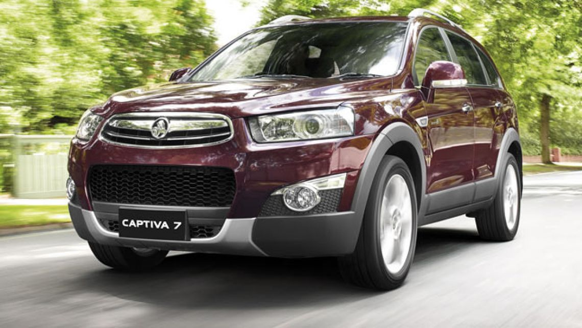 Holden captiva photo - 10