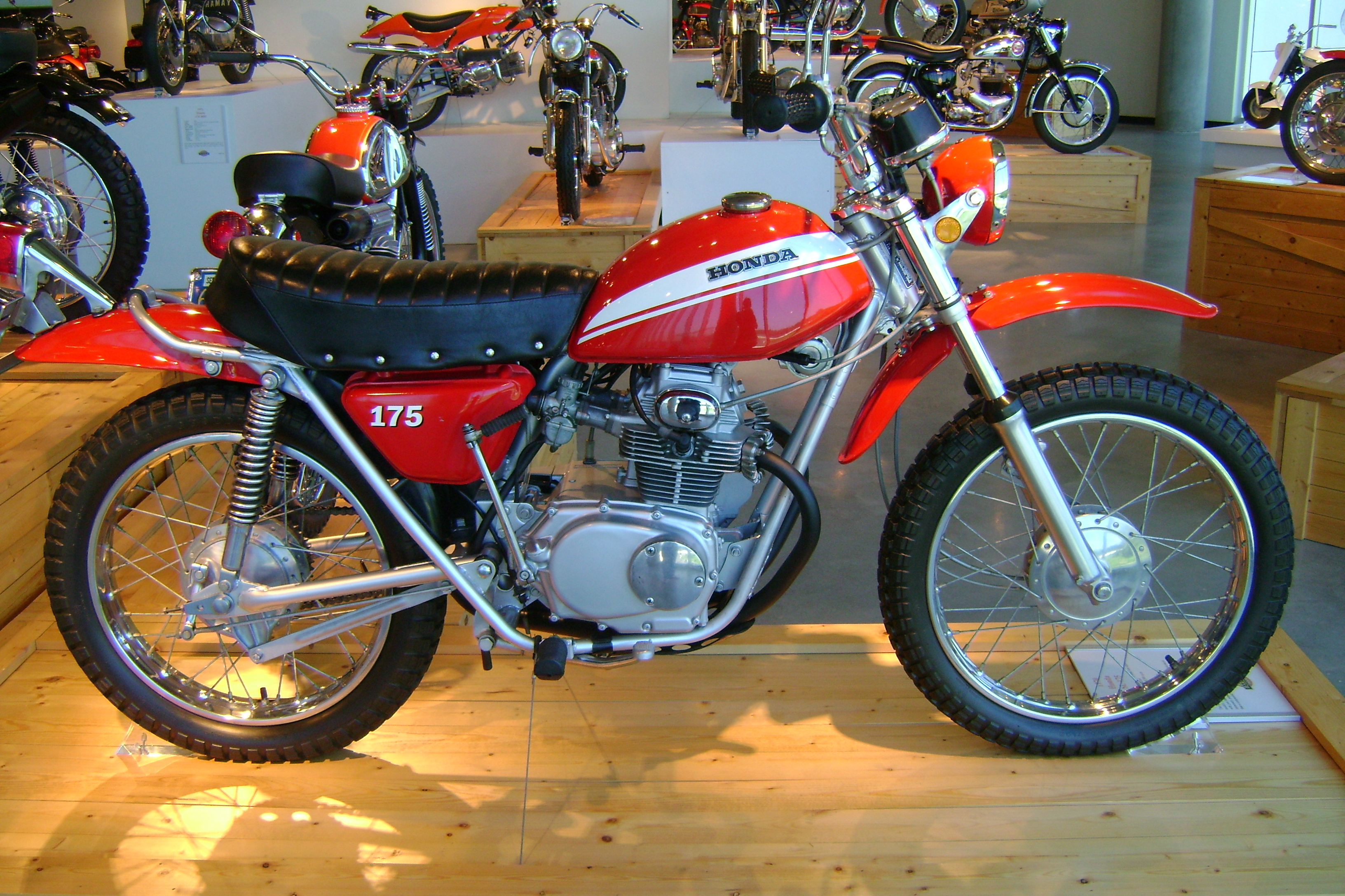 Honda sl175 photo - 10