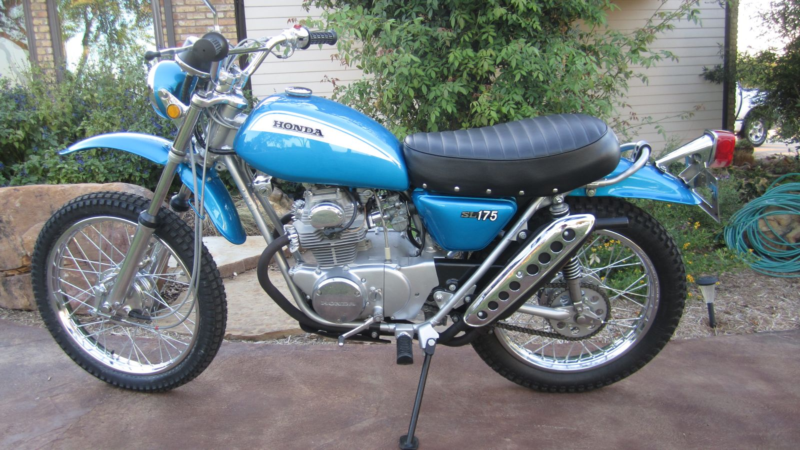 Honda sl175 photo - 4