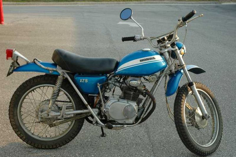 Honda sl175 photo - 5