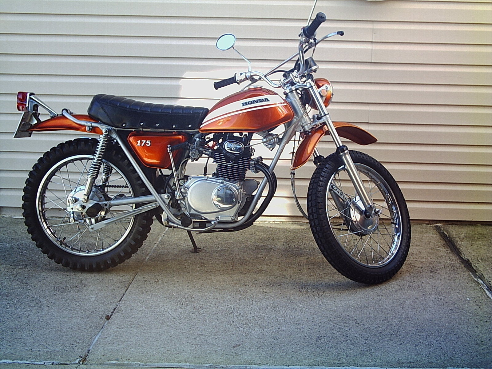 Honda sl175 photo - 8