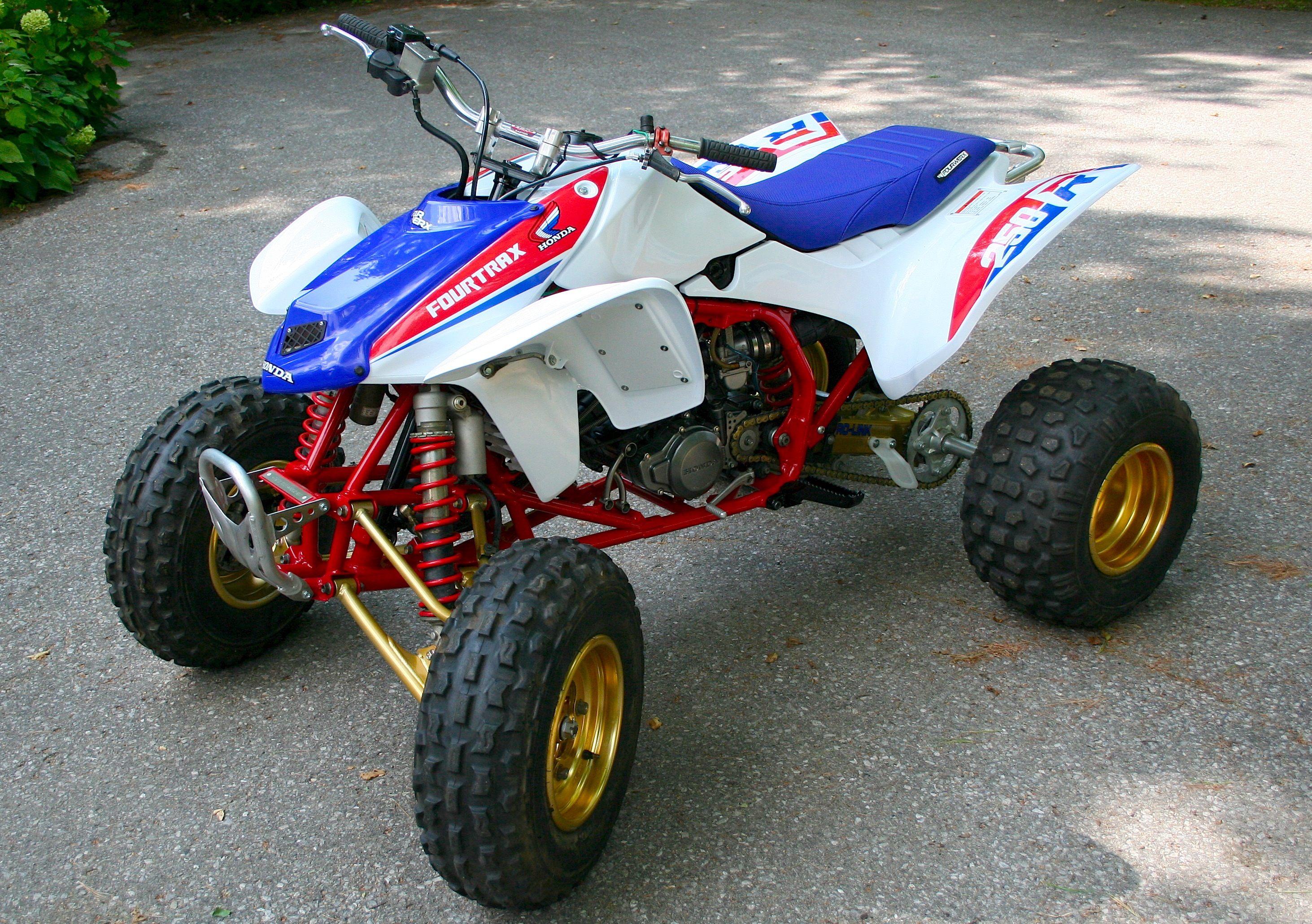 Honda trx450r photo - 4