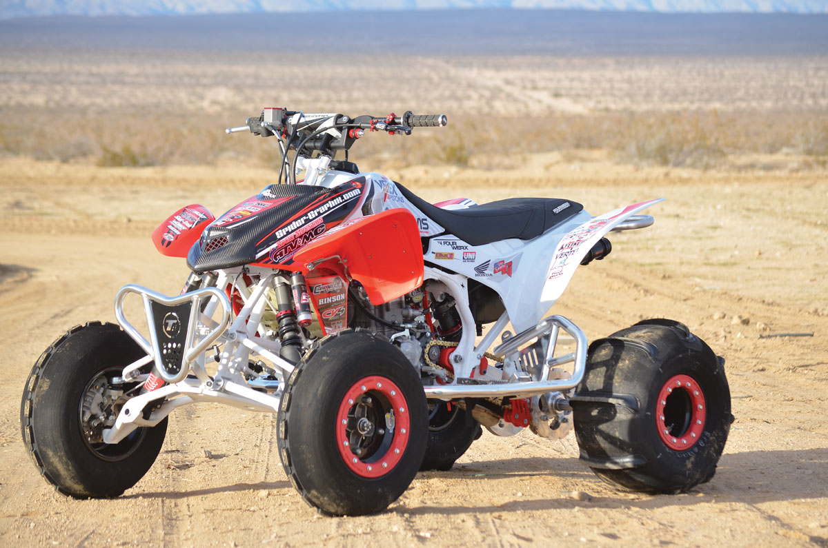 Honda trx450r photo - 5