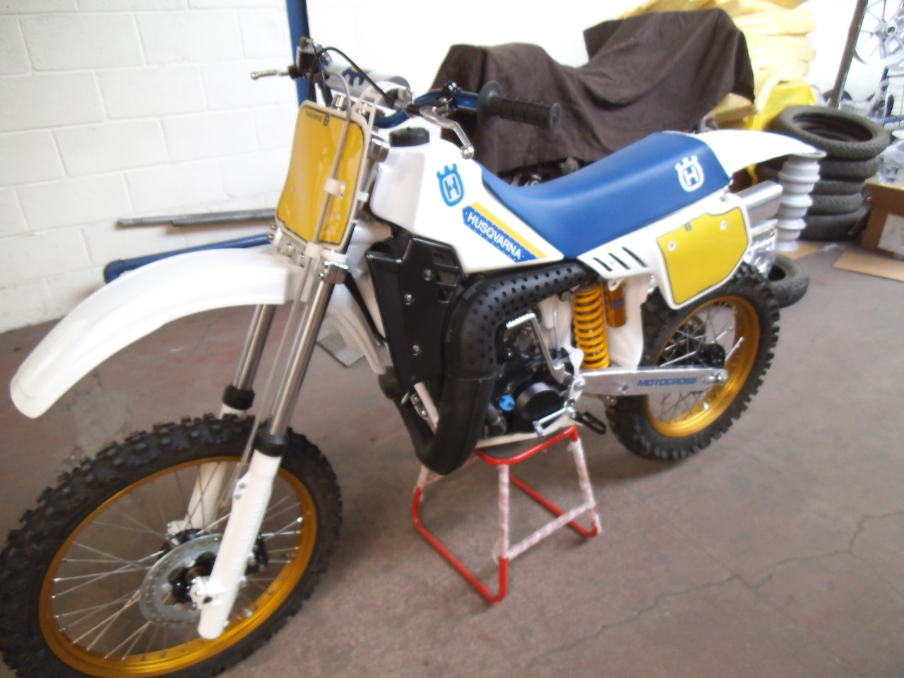 Husqvarna cr photo - 1