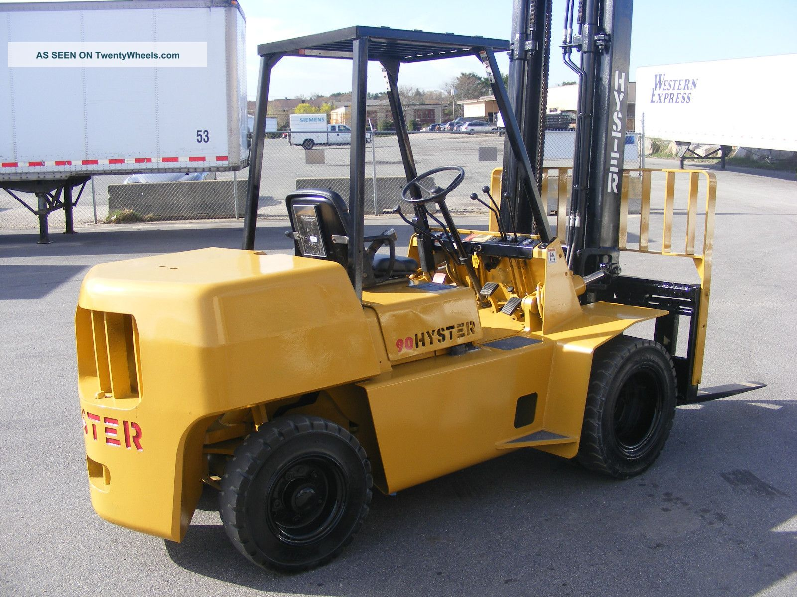 Hyster 90 photo - 2