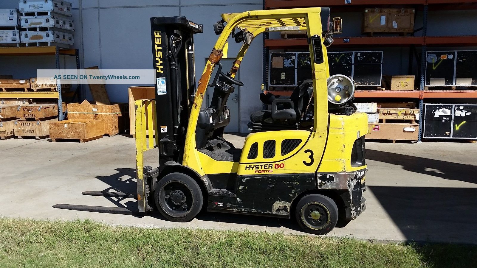 Hyster fortis photo - 10