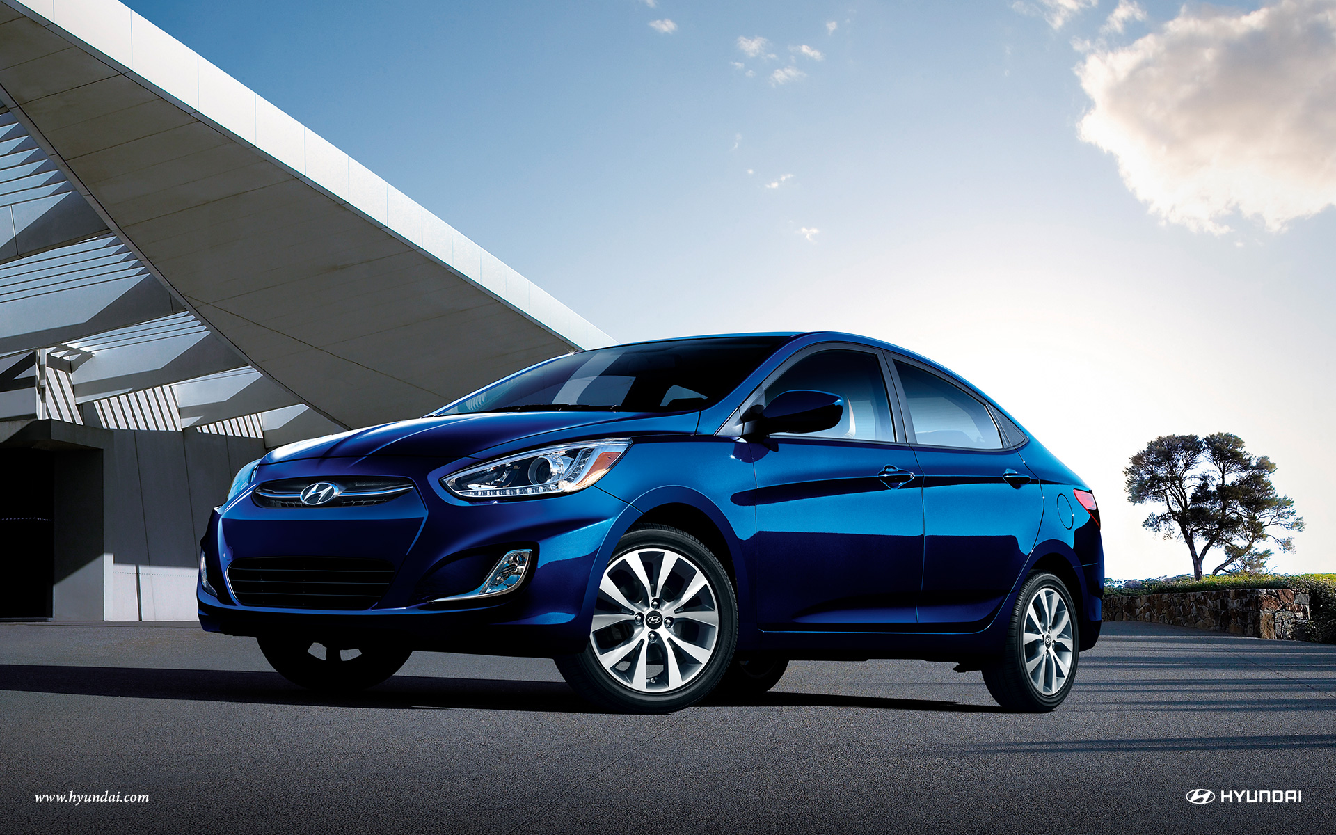 Hyundai blue photo - 5