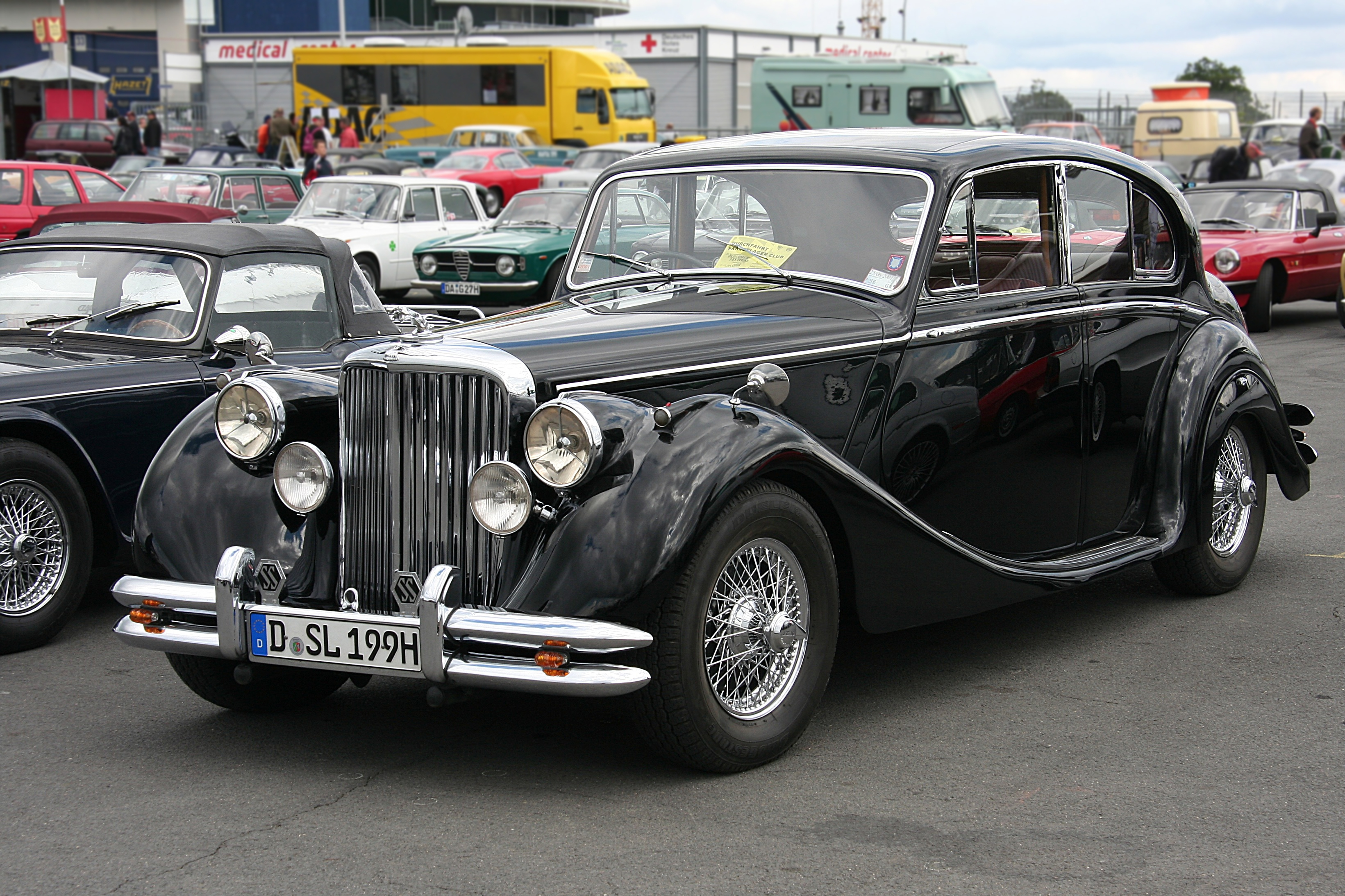 Jaguar mk.v photo - 1
