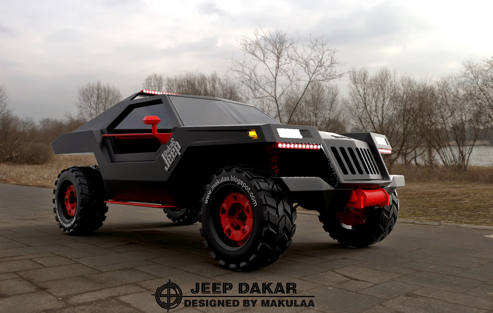 Jeep dakar photo - 3