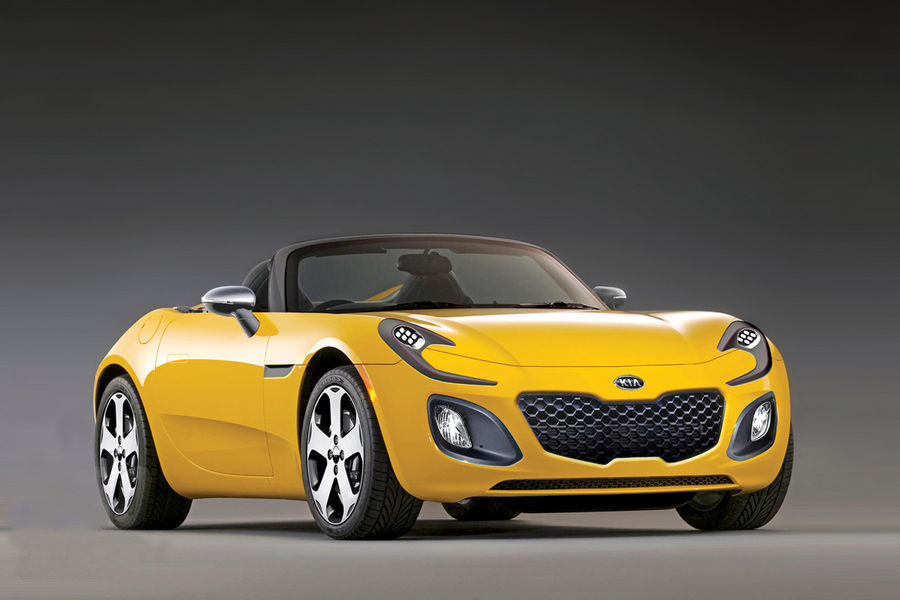 Kia roadster photo - 2